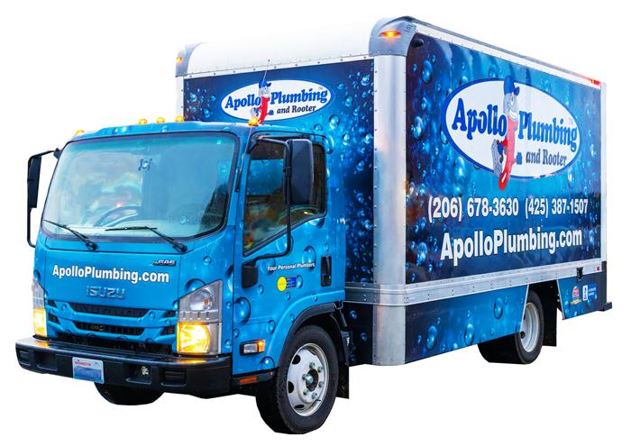 Everett Plumber Truck Pic