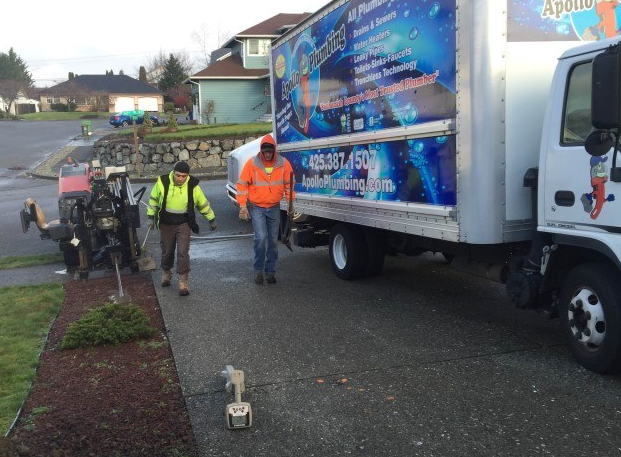 Apollo Plumbing Trenchless Water Line Replacement