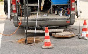 Underground Sewer Repair Plumber Everett