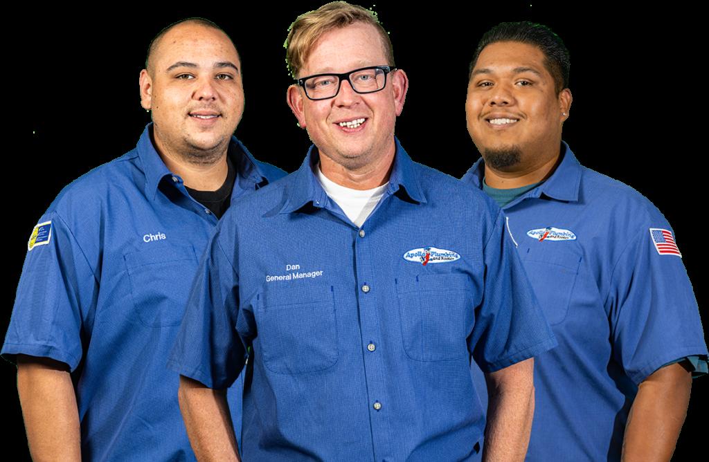 Everett Plumber Team Pic
